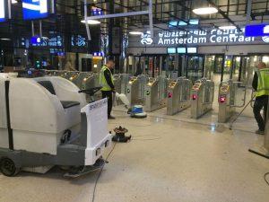schoonmaak stations, schoonmaak openbaar vervoer, schoonmaak transport