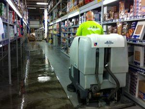 industriële vloeren reinigen