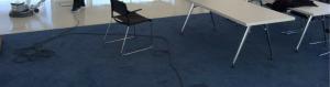 Stoomreiniging van vloeren